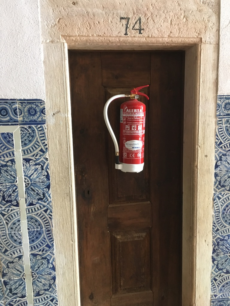 Monastery fire extinguisher