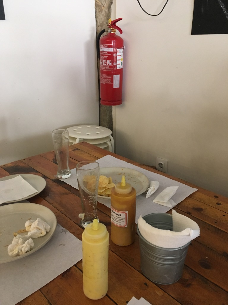 Fire Extinguisher in restaurant