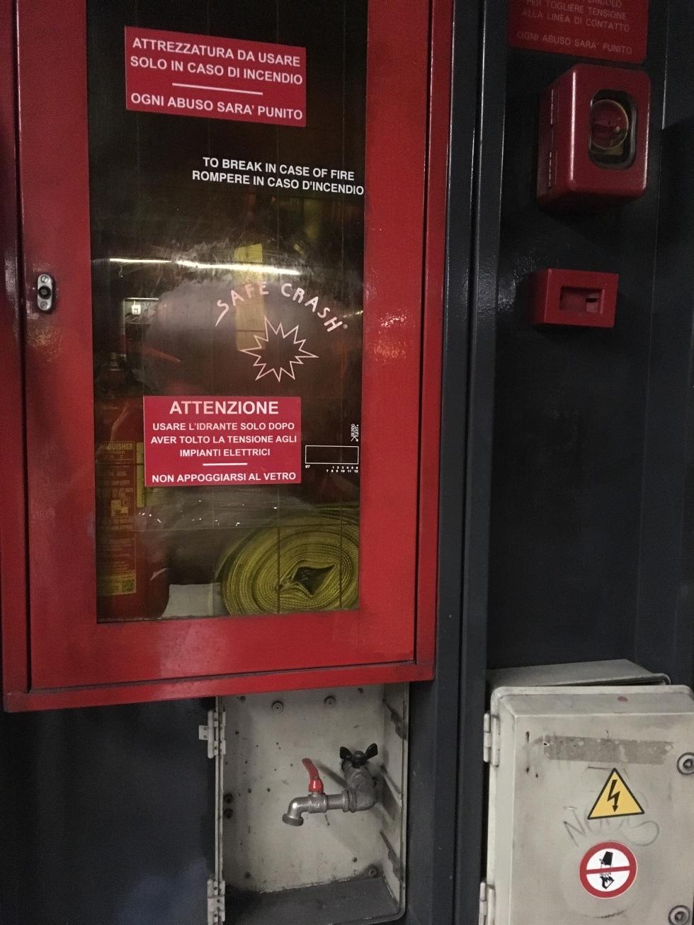 fire safety metro roma
