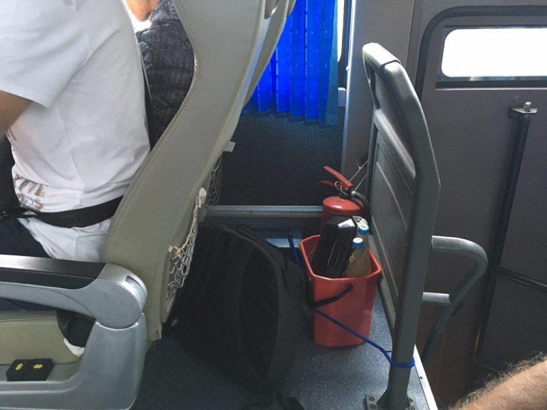 little extinguishers, bus fire extinguishers