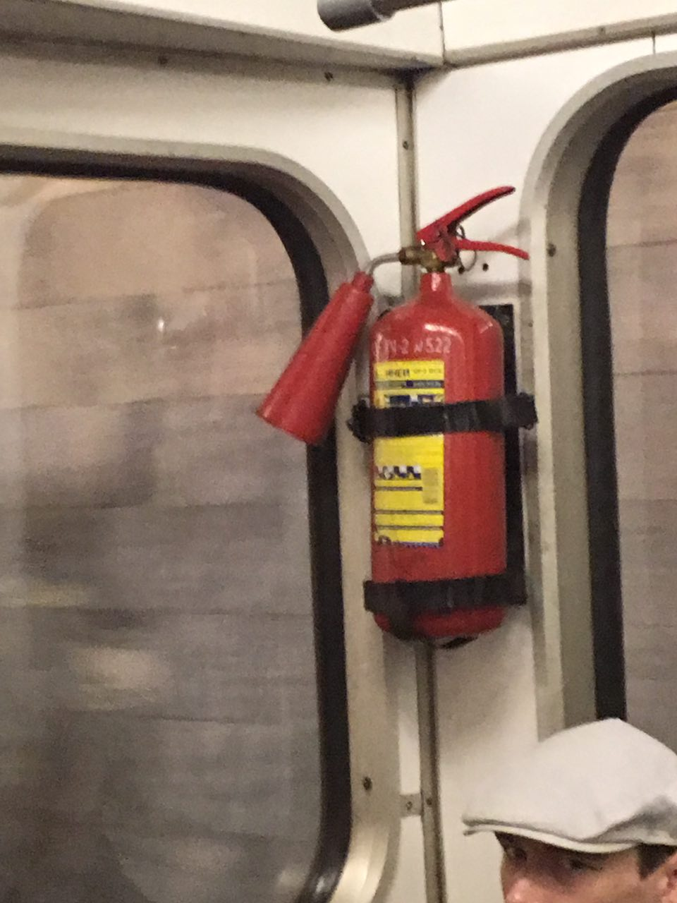 moscow russia metro fire extinguisher, moscow russia subway fire extinguisher