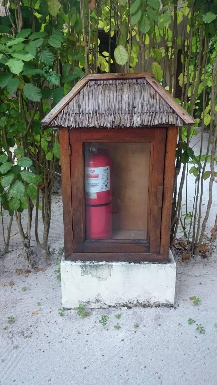 Exotic extinguisher