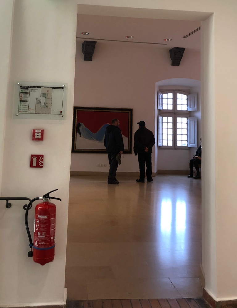 picasso museum antibes, extinguisher in antibes museum