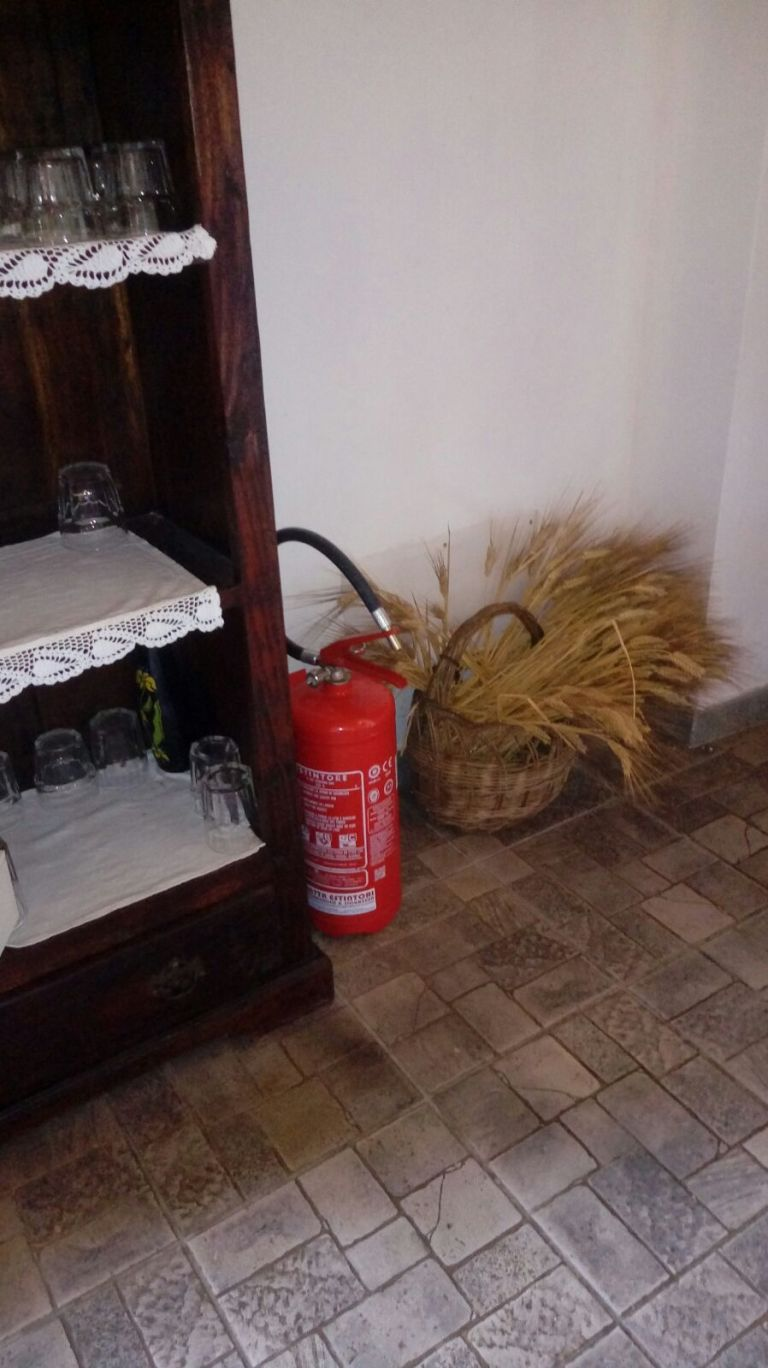 indoor extinguisher, nature extinguishers, extinguishers in restaurants
