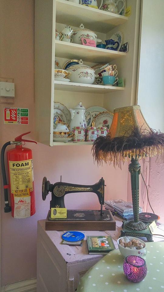 tea room fire safety, tea room extinguishers, indoor extinguisher